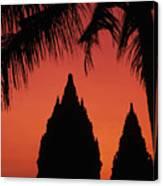 Java, Prambanan Canvas Print