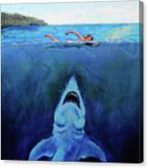 Jaws  Revisited Canvas Print