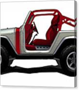 Jeep Canvas Print