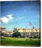 Jekyll Island Club Hotel Canvas Print