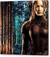 Jennifer Lawrence Collection Canvas Print