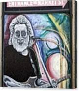 Jerry Garcia - San Francisco Canvas Print