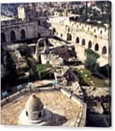 Jerusalem From The Tower Of David Museum Canvas Print