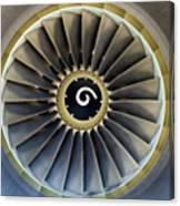 Jet Engine Detail. Canvas Print
