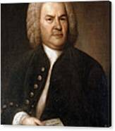 Johann Sebastian Bach, German Baroque Canvas Print
