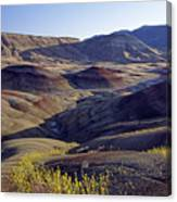John Day Fossil Beds  Canvas Print