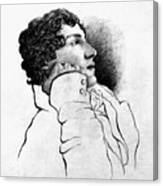 John Keats (1795-1821) Canvas Print