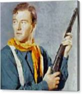 John Wayne, Vintage Hollywood Legend Canvas Print