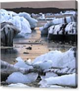 Jokulsarlon Glacier Lagoon Iceland 2050 Canvas Print