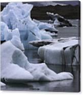 Jokulsarlon Glacier Lagoon Iceland 2431 Canvas Print