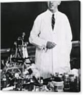 Jonas E. Salk 1914-1995, American Canvas Print