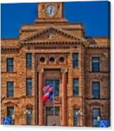 Jones County Courthouse Canvas Print