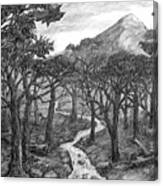 Jordan Creek Canvas Print