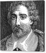 Joseph De Tournefort, French Botanist Canvas Print