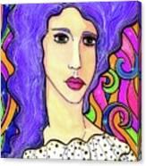 Joujou Canvas Print