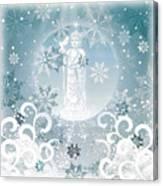 Joyful Message Canvas Print