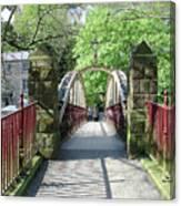 Jubilee Bridge - Matlock Bath Canvas Print