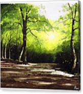 Judy Woods Canvas Print