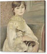 Julie Manet Canvas Print