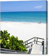 Juno Beach Florida Canvas Print
