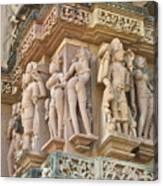 Kama Sutra Temple Canvas Print