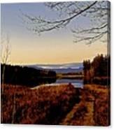 Kanasatka Lake Canvas Print