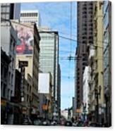 Karney Street San Francisco  Canvas Print