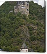 Katz Castle, Loreleystadt Canvas Print