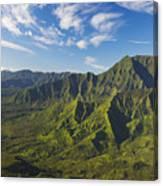 Kauai Aerial Canvas Print