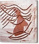 Keli - Tile Canvas Print