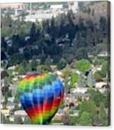 Kelowna Ballooning 1 Canvas Print