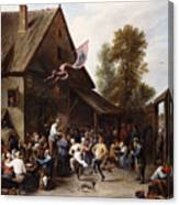 Kermis On St. George's Day Canvas Print