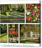 Keukenhof Collage Canvas Print