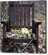Keven's Chair Canvas Print