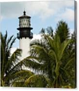 Key Biscayne Lighthouse, Florida Canvas Print