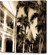 Key West House Canvas Print