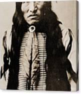 Kicking Bear Indian Chief Canvas Print