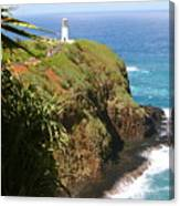 Kilauea Lighthouse Canvas Print