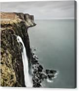 Kilt Rock Waterfall - Isle Of Skye Canvas Print