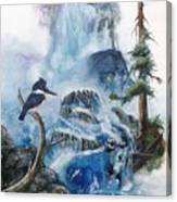 Kingfisher's Realm Canvas Print