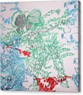 Kintu And Nambi Loves Puzzle Canvas Print