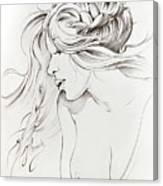 Kiss Of Wind Canvas Print