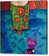 Kitty Still Canvas Print