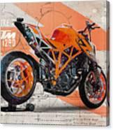 Ktm 1290 Super Duke R Canvas Print