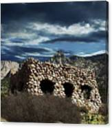 La Luz Rock House Canvas Print