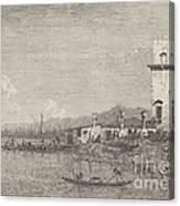 La Torre Di Malghera Canvas Print