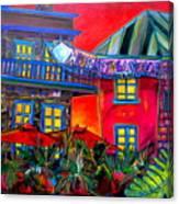 La Villita Entrance Canvas Print