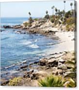 Laguna Beach California Canvas Print
