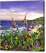 Laguna Niguel Garden Canvas Print