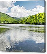 Lake Agua  Blanca Canvas Print